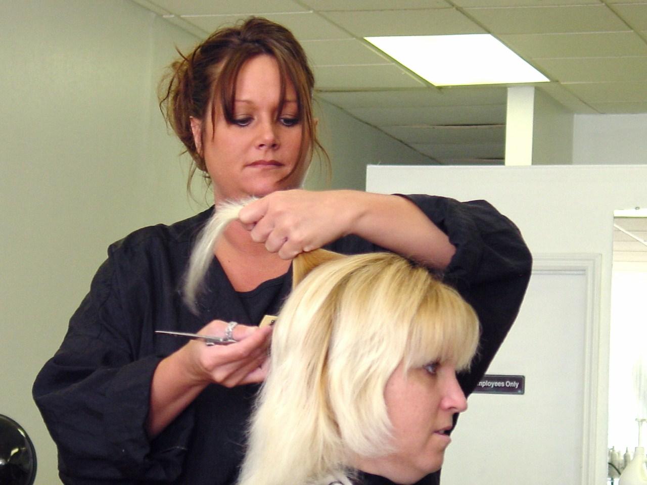 Little Girl Haircut Punishment